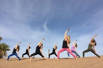 Desert Dream - Yoga journey
